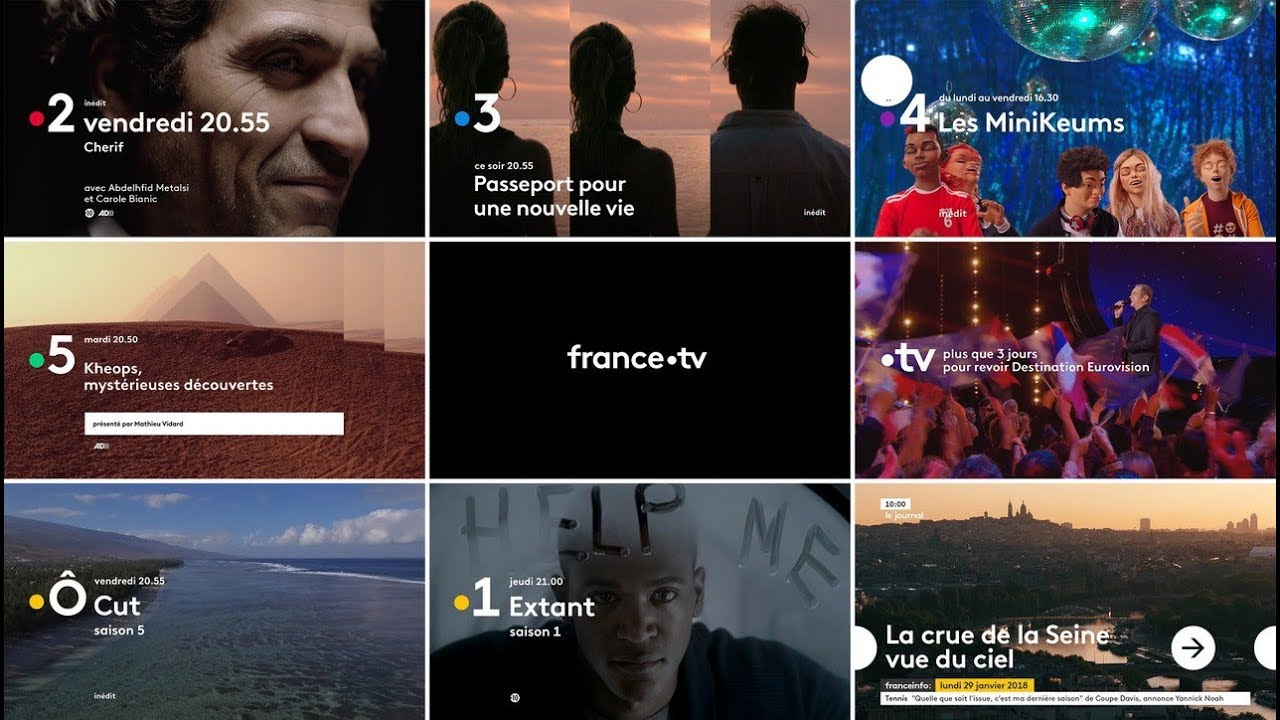 France 3 Tv Pluzz Replay France Télévisions New Visual Identity Period Graphéine