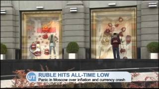 Ruble Hits All Time Low: Panic in Moscow over inflation and currency crash