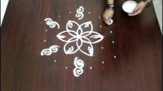 Video chukkala muggulu with 7 to 4 interlaced dots-simple kolam-rangoli designs with dots download MP3, 3GP, MP4, WEBM, AVI, FLV April 2018