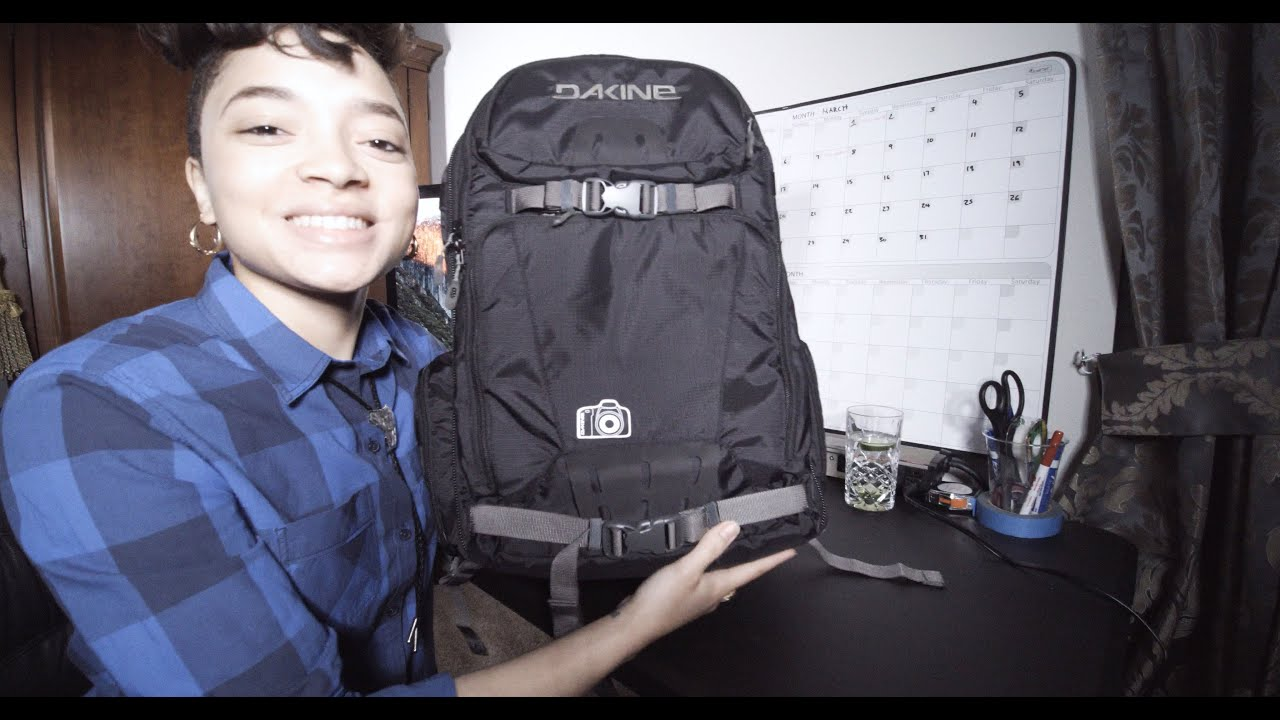 Camera Bag Review | Dakine Reload Camera Backpack - YouTube