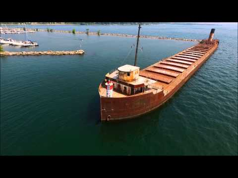 Abandoned Ship in Beautiful Port Credit