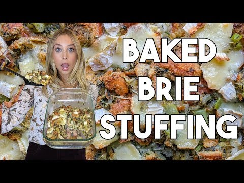 baked-brie-stuffing-|-creamy-easy-thanksgiving-recipe!-|-casual-cooking-show