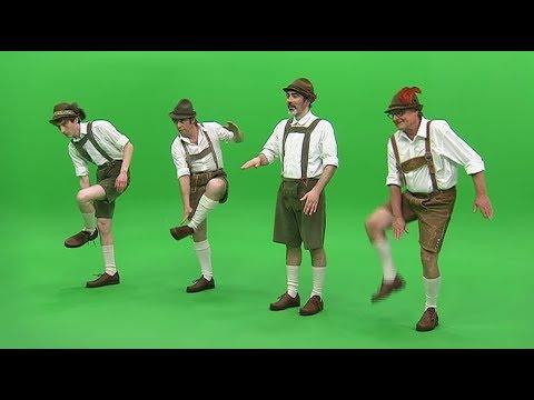 Anfängerkurs im bayrischen Schuhplattler-Tanzen | Karambolage | ARTE