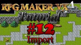 Import von Grafiken + BGMs #12 RPG Maker VX Ace Tutorial [German]