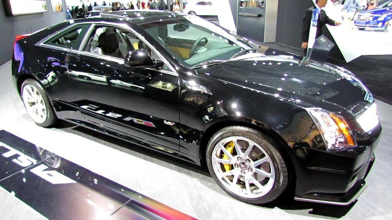 2014 Cadillac Cts V Coupe Exterior And Interior Walkaround 2014