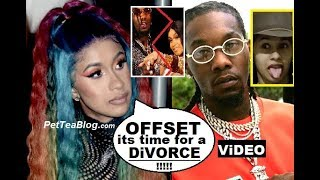 Cardi B Ready to Divorce OFFSET her Baby Daddy.  Changed Motorsport Lyrics On Stage! Video