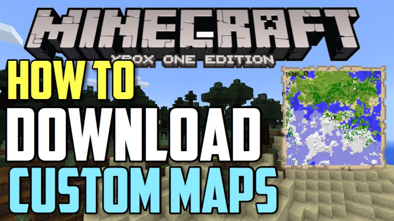 How To Download Minecraft Maps On Xbox One Bedrock Edition