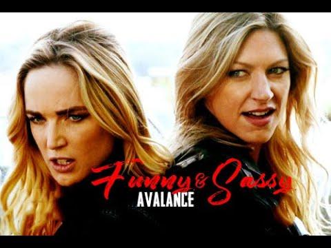 Sara Lance & Ava Sharpe / Funny & Sassy