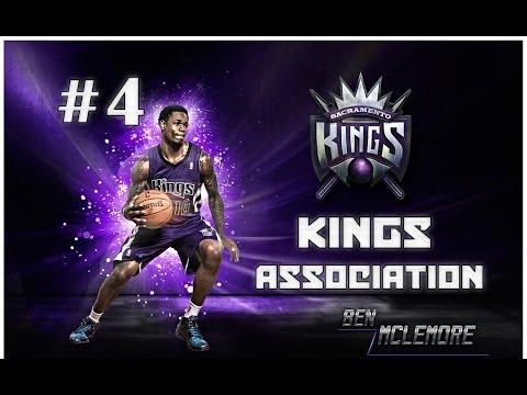 NBA 2K14 - Sacramento Kings Association! | 2014 OFFSEASON + TRADES AND FREE AGENTS | EP4