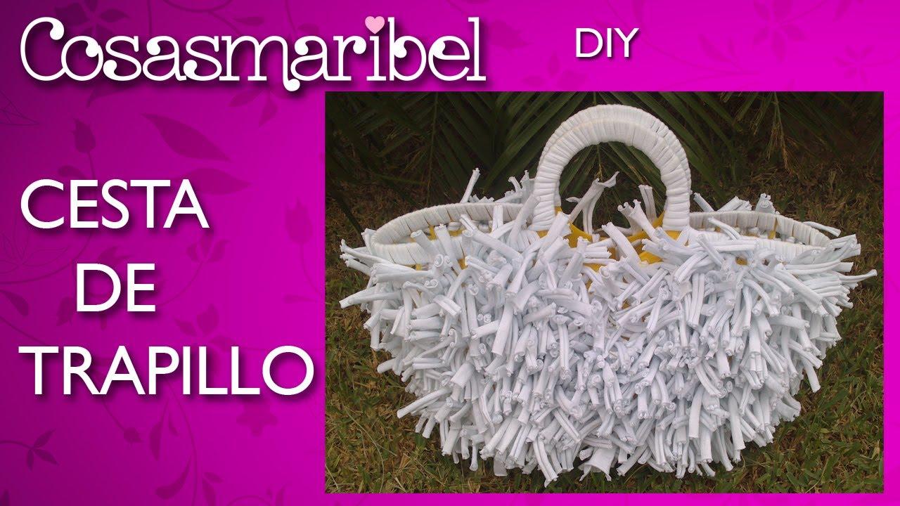 Diy bolso de tela de camiseta o trapillo reciclaje youtube - Como hacer alfombras con trapillo ...