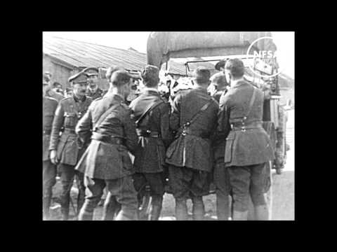 Funeral of the Red Baron, 1918