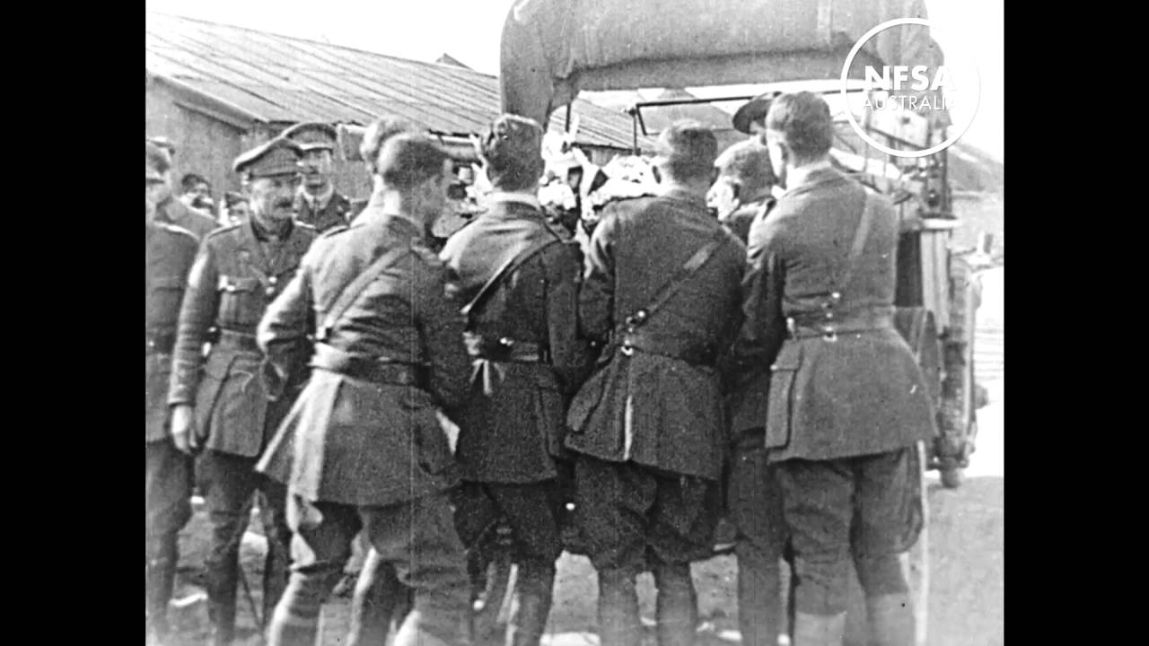 Funeral of the Red Baron, 1918 - YouTube