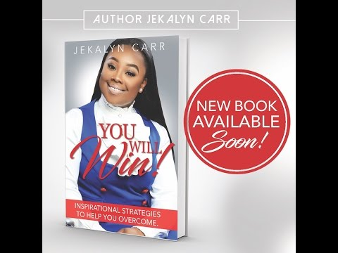 Jekalyn Carr talks about new book & latest single