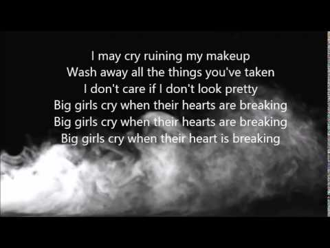 Sia - Big Girls Cry (lyrics On Screen)