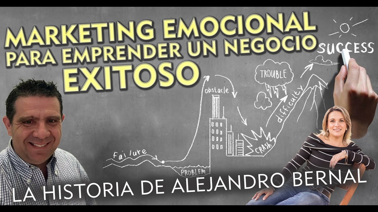 🧠🧠🧠MARKETING EMOCIONAL para EMPRENDER un negocio EXITOSO🎯🎯🎯 La Historia de Alejandro Be