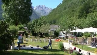 Camping Pyrénées Natura 4 etoiles à Estaing Val d'Azun