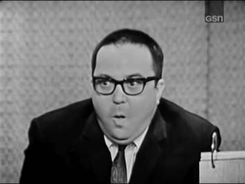 What's My Line? - Allan Sherman; Steve Lawrence [panel] (Mar 15, 1964)