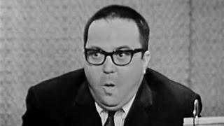 What's My Line? - Allan Sherman; Steve Lawrence [panel] (Mar 15, 1964)
