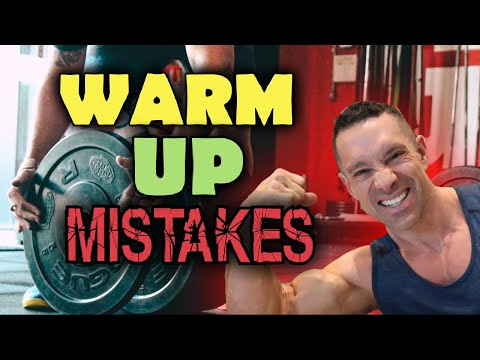 3 Step Warm-Up for optimum Performance Muscle Gains