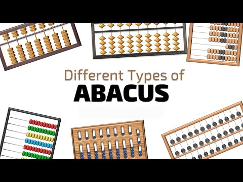 Different Types Of Abacus - Chinese Suanpan - Japanese Soroban - Russian Schoty