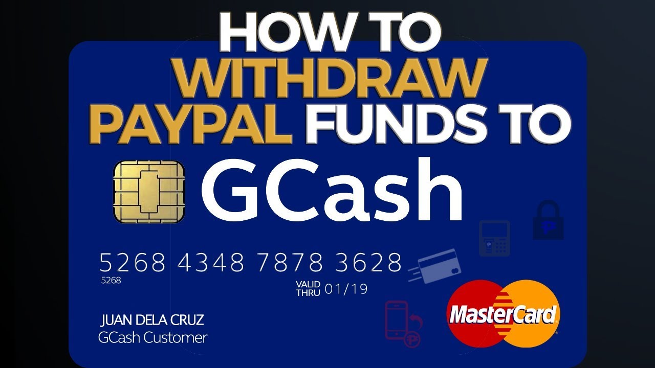 GCash Tutorial: How to Withdraw Paypal Funds to Gcash - FAST!!!