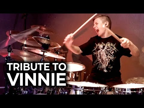 CEMETERY GATES (Tribute to Vinnie) Cover by Avery Drummer
