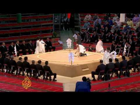 Scandal threatens Japan's sumo wrestling