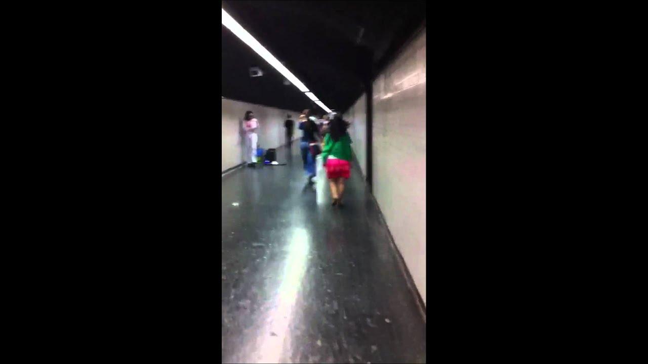 Elvis en el metro