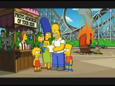 The Simpsons Ride Commercial