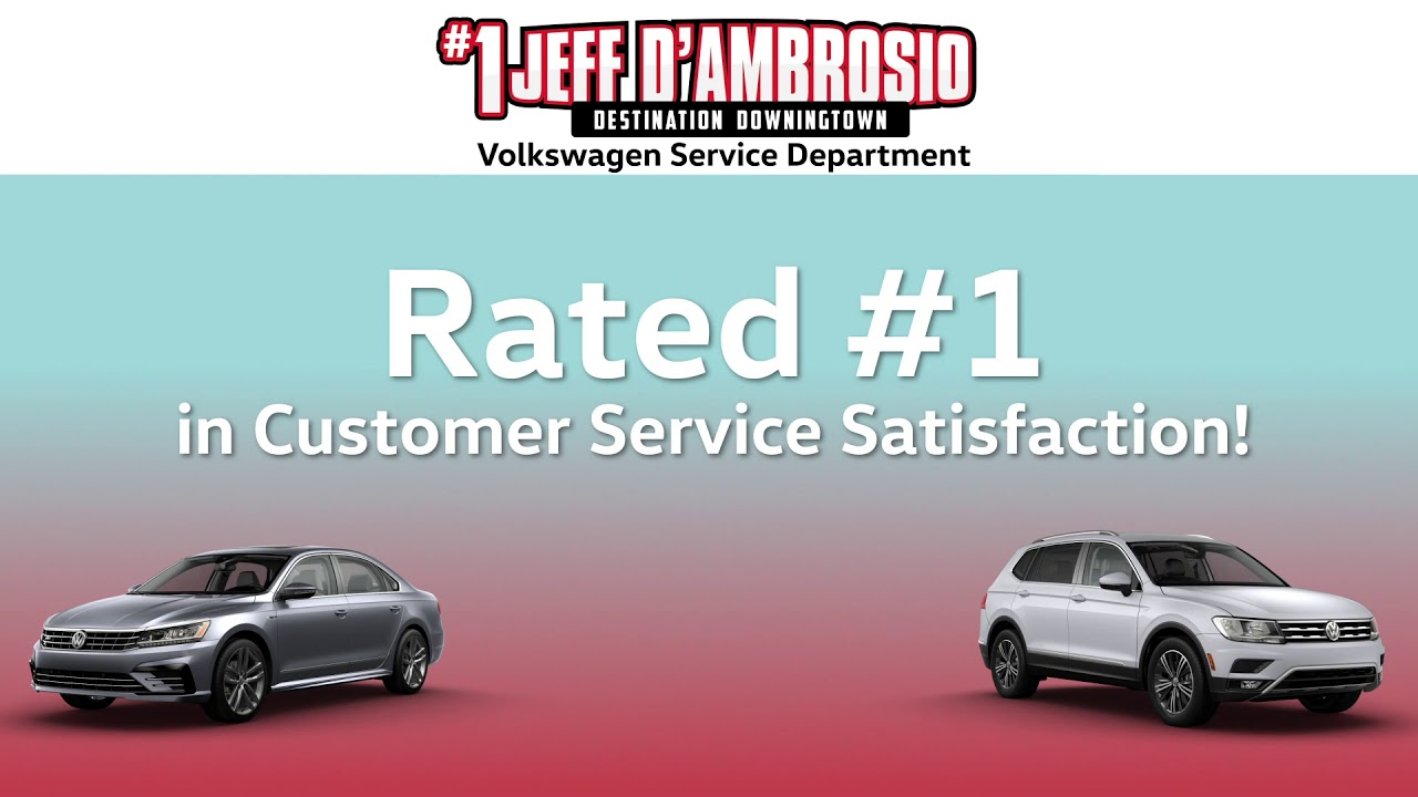 Choose Jeff D Ambrosio To Service Your Volkswagen Youtube