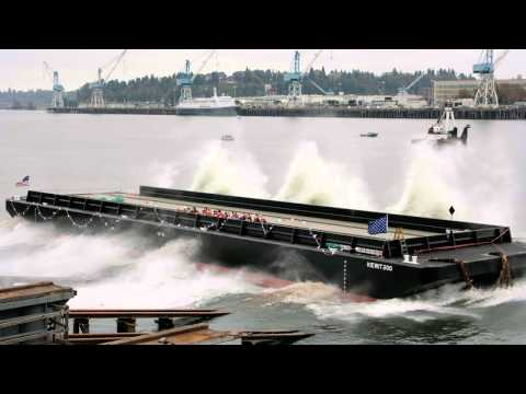 General Construction Company - Kiewit 200 and 201 Barge Launch