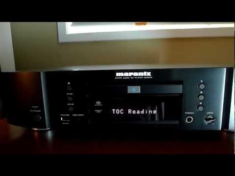Marantz SA8004 SACD Player Overview