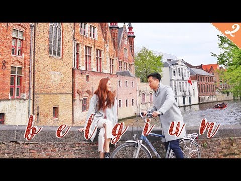 [下集] 比利時最美的舊城 Brugge 布魯日 belgium vlog | kayan.c