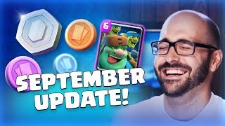 Clash Royale: September Update Reveal! (TV Royale)