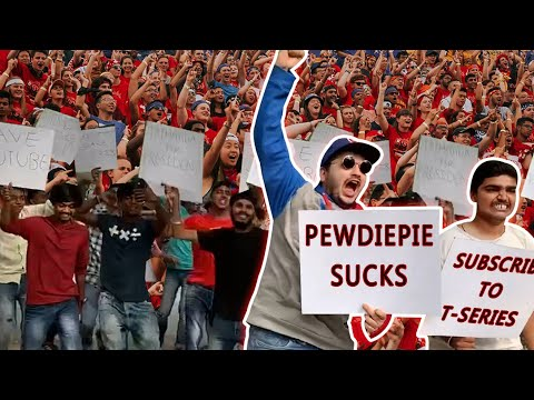 WORLD'S BIGGEST PROTEST FOR T-SERIES | PEWDIEPIE VS T-SERIES