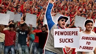 WORLD'S BIGGEST PROTEST FOR T SERIES | PEWDIEPIE VS T SERIES