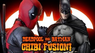 How to Draw Deadpool + Batman Fusion | ART CHALLENGE