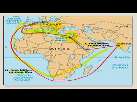 COLD WAR (शीत युद्ध)-SUEZ CANAL(सुएज़ नहर) -  कब कैसे बनी ? | P-8 | EPAATHSHAALA
