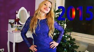 СОБИРАЙСЯ СО МНОЙ: Новый Год 2015!!! New Year's Makeup + Outfit