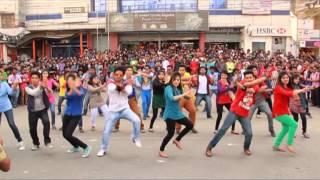ICC WorldTwenty20 Bangladesh,Flash Mob-Stamford University Bangladesh (Dhanmondi Campus)