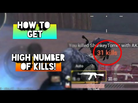how-to-get-high-number-of-kills-|-ultimate-guide-||-pubg-mobile