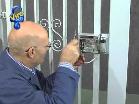 Serrature Per Cancelli Esterni.Serratura Elettrica Viro V97 Installazione Ns