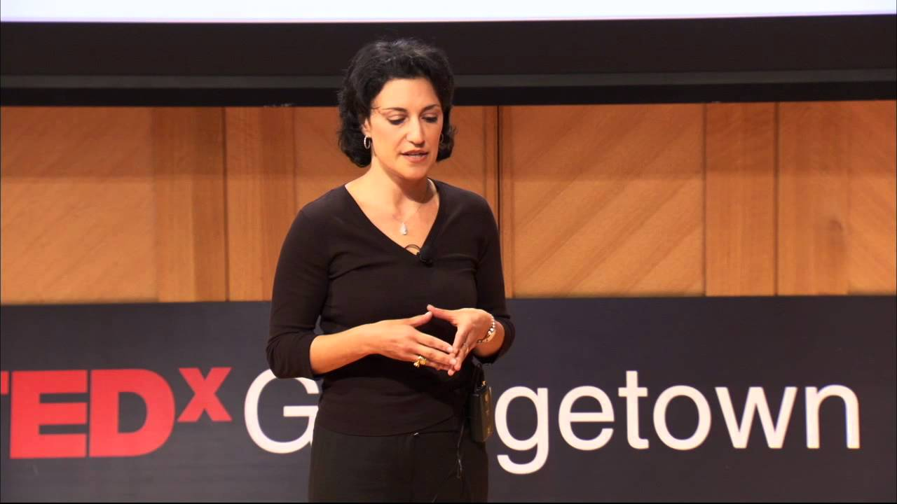Power narratives: Amy Zalman at TEDxGeorgetown - YouTube