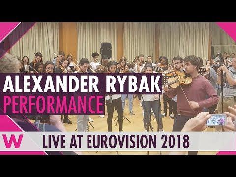 "Alexander Rybak ""Fairytale"" at Lisbon Metropolitana Music School"