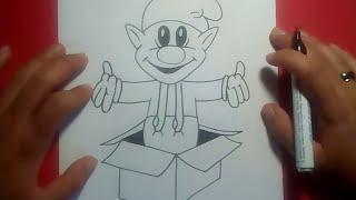 Como dibujar un duende paso a paso 2   How to draw an elf 2