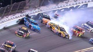 Huge wreck takes out several big names thumbnail