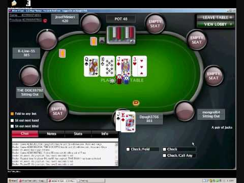 online poker cash game strategy