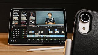 Creating a YouTube Video using ONLY an iPad Pro (2019) | LumaFusion