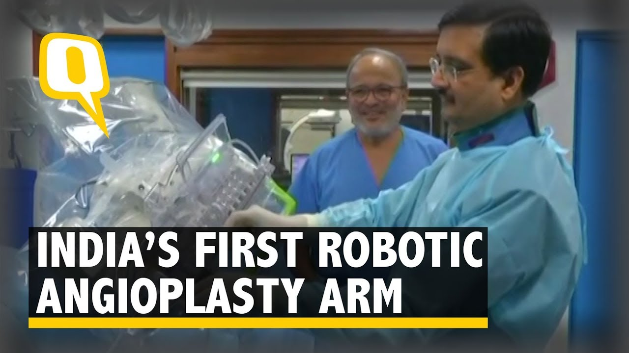 Apex Heart Institute Gets India S First Robotic Angioplasty System