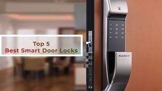 Top 5 Best Smart Digital Door Locks in 2018 – New Key-less L…